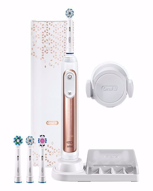 Oral-B Genius Pro 10000 elektromos fogkefe, rose gold