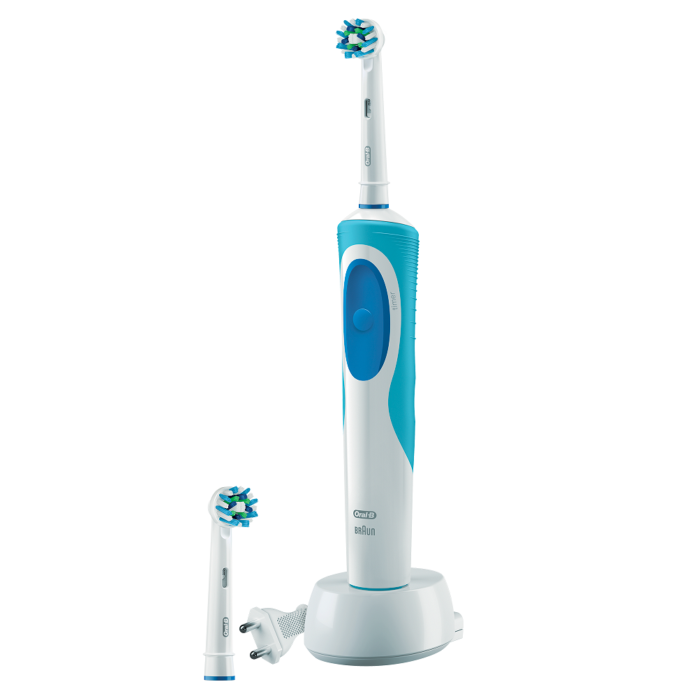 Oral-B Vitality Plus elektromos fogkefe 2 db Cross Action fejjel